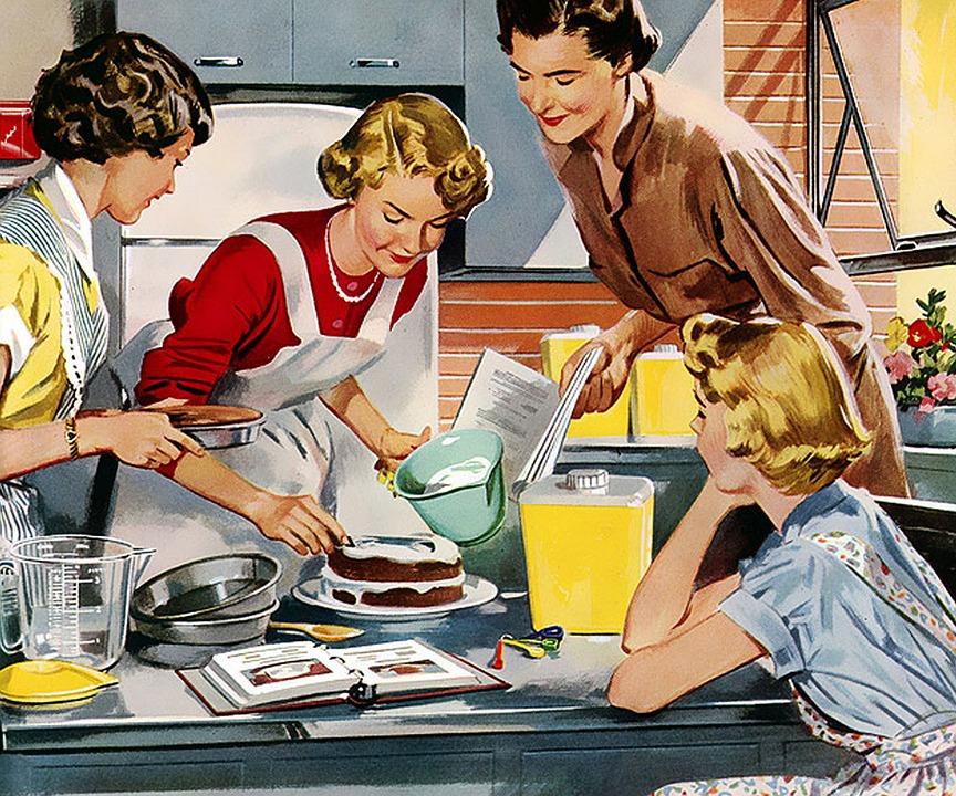 Eine Predigt für Mütter, Hausfrauen und alle anderen